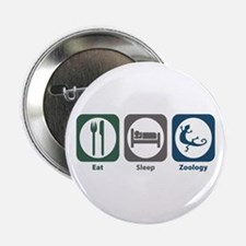 "Eat Sleep Zoology 2.25"" Button"