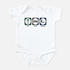 Eat Sleep Zoology Infant Bodysuit