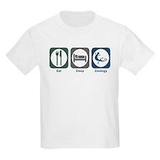 Eat Sleep Zoology T-Shirt