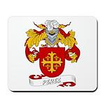 Perez Family Crest Mousepad