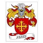 Perez Family Crest Small Poster