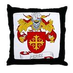 Perez Family Crest Throw Pillow