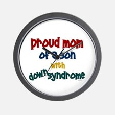 Proud Mom....2 (Son DS) Wall Clock
