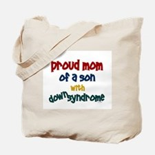 Proud Mom....2 (Son DS) Tote Bag