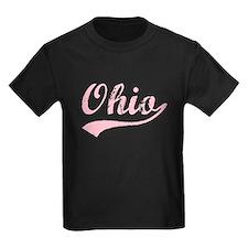 Vintage Ohio (Pink) T