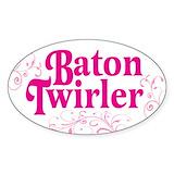 Baton twirling Single