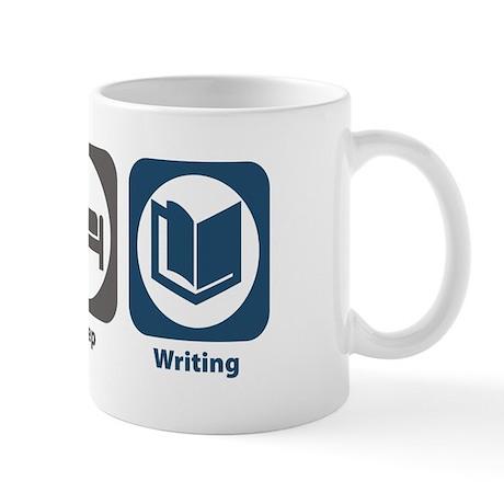Eat Sleep Writing Mug