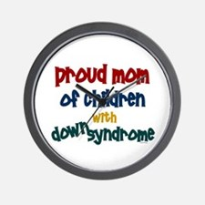 Proud Mom....2 (Children DS) Wall Clock