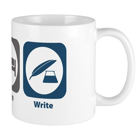 Eat Sleep Write Mug