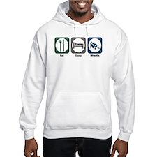 Eat Sleep Wrestle Hoodie Sweatshirt