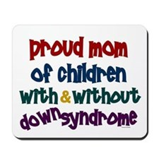 Proud Mom....2 (With & Without DS) Mousepad