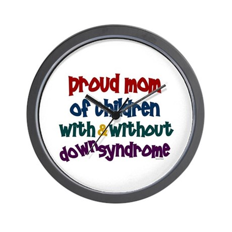 Proud Mom....2 (With & Without DS) Wall Clock