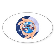 Earth Day T-shirts Oval Decal