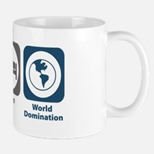 Eat Sleep World Domination Small Small Mug
