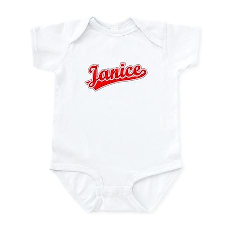 Retro Janice (Red) Infant Bodysuit