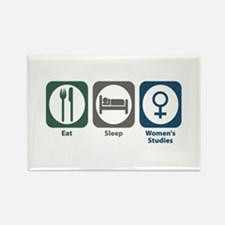 Eat Sleep Women's Studies Rectangle Magnet