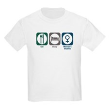 Eat Sleep Women's Studies T-Shirt