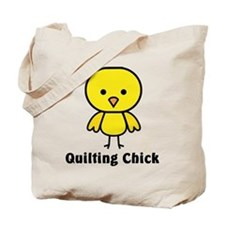 Quilting Chick Tote Bag
