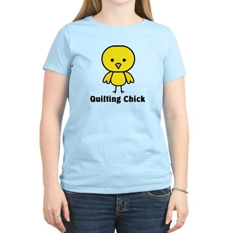 Quilting Chick Women's Light T-Shirt
