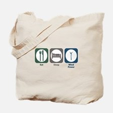 Eat Sleep Wind Power Tote Bag
