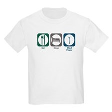 Eat Sleep Wind Power T-Shirt