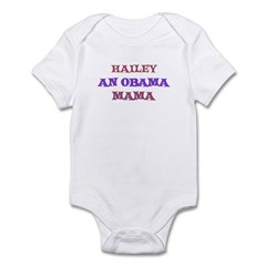 Hailey - An Obama Mama Infant Bodysuit