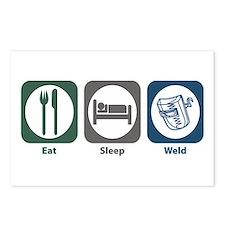 Eat Sleep Weld Postcards (Package of 8)