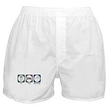 Eat Sleep Web Design Boxer Shorts