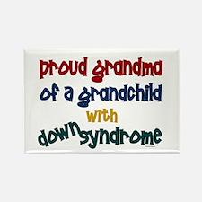 Proud Grandma....2 (Grandchild DS) Rectangle Magne