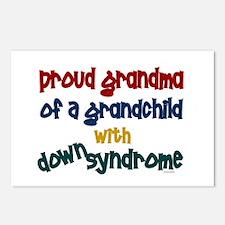 Proud Grandma....2 (Grandchild DS) Postcards (Pack