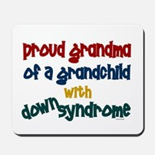 Proud Grandma....2 (Grandchild DS) Mousepad