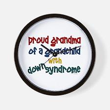 Proud Grandma....2 (Grandchild DS) Wall Clock