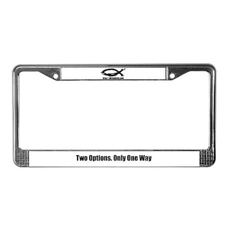 PhAt pHiSh! License Plate Frame