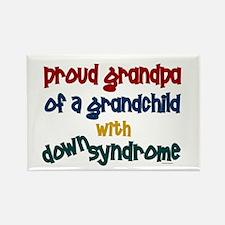 Proud Grandpa....2 (Grandchild DS) Rectangle Magne
