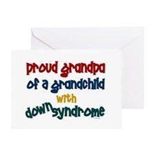 Proud Grandpa....2 (Grandchild DS) Greeting Card