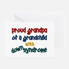 Proud Grandpa....2 (Grandchild DS) Greeting Card