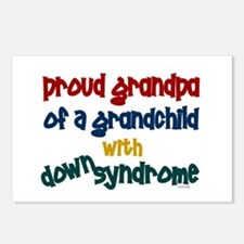 Proud Grandpa....2 (Grandchild DS) Postcards (Pack