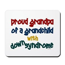 Proud Grandpa....2 (Grandchild DS) Mousepad