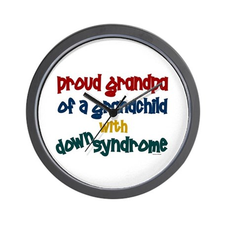 Proud Grandpa....2 (Grandchild DS) Wall Clock