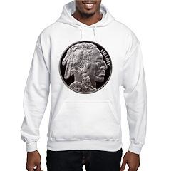Silver Indian Head Hoodie