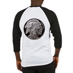 Silver Indian Head Baseball Jersey