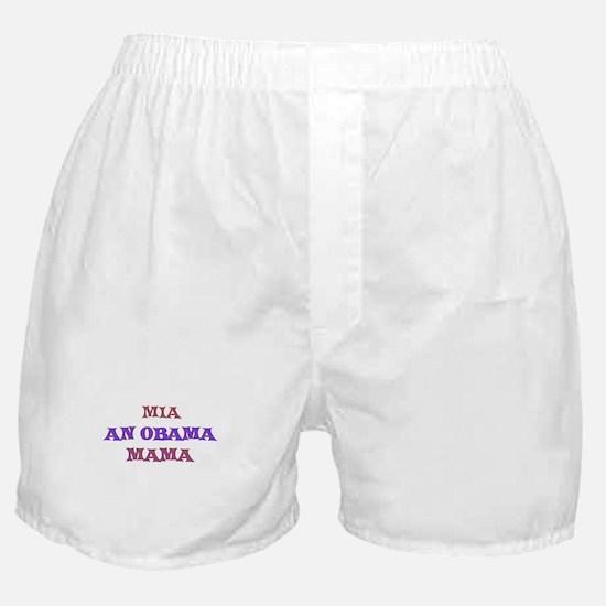 Mia - An Obama Mama Boxer Shorts