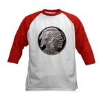 Silver Indian Head Kids Baseball Jersey