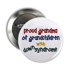 "Proud Grandma....2 (Grandchildren DS) 2.25"" Button"