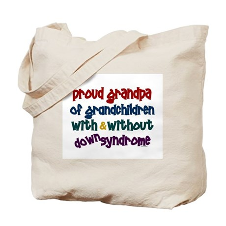 Proud Grandpa....2 (With & Without DS) Tote Bag
