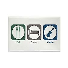 Eat Sleep Violin Rectangle Magnet