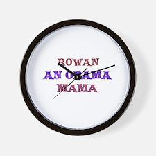 Rowan - An Obama Mama Wall Clock