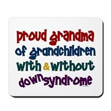 Proud Grandma....2 (With & Without DS) Mousepad