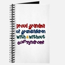 Proud Grandma....2 (With & Without DS) Journal
