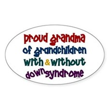 Proud Grandma....2 (With & Without DS) Decal